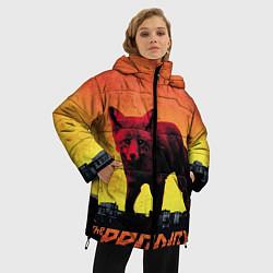 Женская зимняя 3D-куртка с капюшоном с принтом The Prodigy: Red Fox, цвет: 3D-черный, артикул: 10063917806071 — фото 2