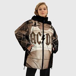 Куртка зимняя женская AC/DC Girl цвета 3D-черный — фото 2