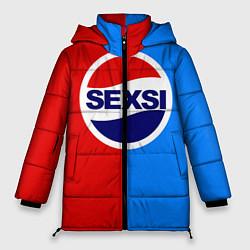 Куртка зимняя женская Sexsi Pepsi цвета 3D-черный — фото 1