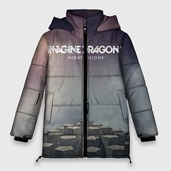 Куртка зимняя женская Imagine Dragons: Night Visions цвета 3D-черный — фото 1
