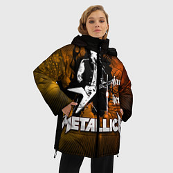 Куртка зимняя женская Metallica: James Hetfield - фото 2