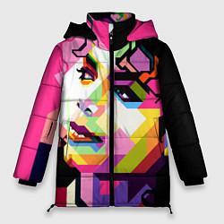 Женская зимняя куртка Michael Jackson Art