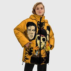 Куртка зимняя женская Группа Нирвана - фото 2