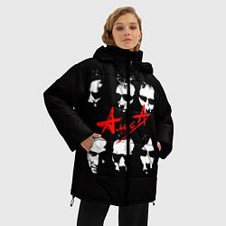 Куртка зимняя женская Группа АлисА цвета 3D-черный — фото 2