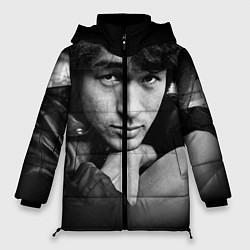 Женская зимняя куртка Виктор Цой
