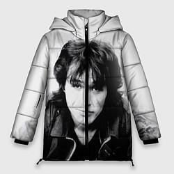 Женская зимняя куртка Кино: Виктор Цой