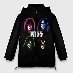 Женская зимняя куртка KISS: Acid Colours