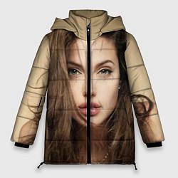 Куртка зимняя женская Анжелина Джоли цвета 3D-черный — фото 1