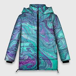 Куртка зимняя женская Смесь красок - фото 1
