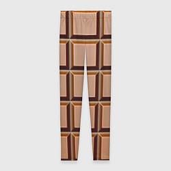 Женские леггинсы Шоколад