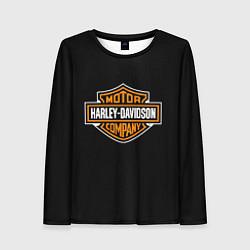 Лонгслив женский Harley-Davidson: Motor Company цвета 3D — фото 1