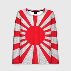Лонгслив женский Япония цвета 3D — фото 1