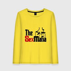 Лонгслив хлопковый женский The SexMafia цвета желтый — фото 1