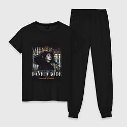 Пижама хлопковая женская ANTIN8RINO x DANETVRODE-SPB цвета черный — фото 1
