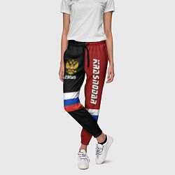 Брюки женские Krasnodar, Russia цвета 3D-принт — фото 2