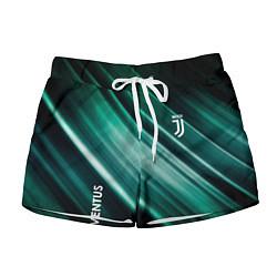 Шорты женские Juventus цвета 3D-принт — фото 1