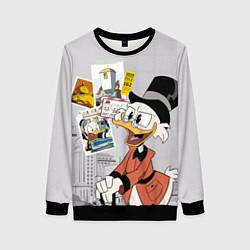Свитшот женский Scrooge цвета 3D-черный — фото 1