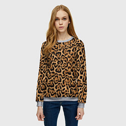 Свитшот женский Jaguar цвета 3D-меланж — фото 2