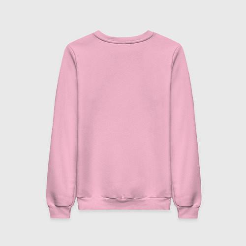 Женский свитшот Мне весело / Светло-розовый – фото 2