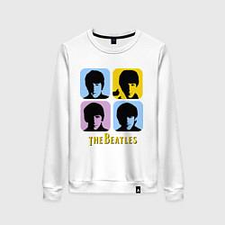Женский свитшот The Beatles: pop-art