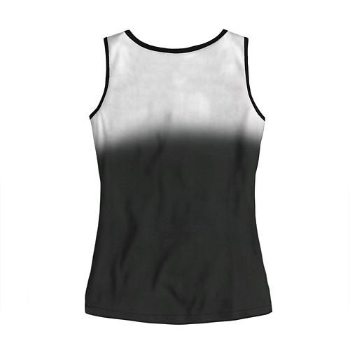 Женская майка без рукавов Пикник / 3D-Черный – фото 2