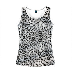 Женская майка без рукавов White Jaguar