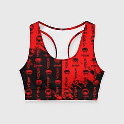 Топик спортивный женский VENUM ВЕНУМ цвета 3D-принт — фото 1