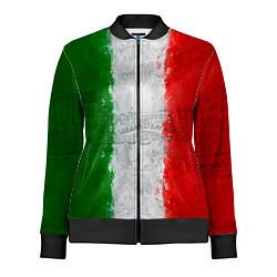 Олимпийка женская Italian цвета 3D-черный — фото 1
