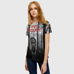 Футболка женская True Detective: Blackwood цвета 3D — фото 2