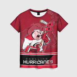Футболка женская Carolina Hurricanes цвета 3D — фото 1