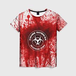 Футболка женская Zombie Outbreak цвета 3D — фото 1