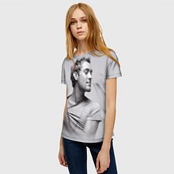 Футболка женская Джуд Лоу цвета 3D — фото 2