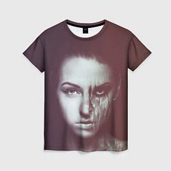 Футболка женская Chelsea Grin: Death Girl цвета 3D — фото 1