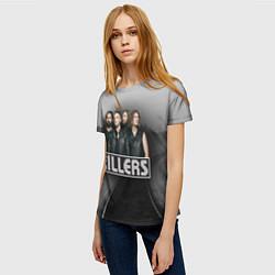 Футболка женская The Killers цвета 3D — фото 2