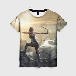 Футболка женская Tomb Raider цвета 3D — фото 1