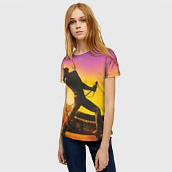 Футболка женская Bohemian Rhapsody цвета 3D — фото 2