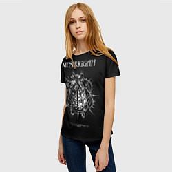 Футболка женская Meshuggah: Chaosphere цвета 3D — фото 2