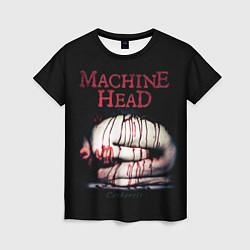 Футболка женская Machine Head: Catharsis цвета 3D — фото 1