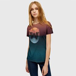Футболка женская Westworld цвета 3D — фото 2