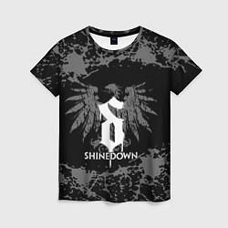Футболка женская Shinedown цвета 3D-принт — фото 1