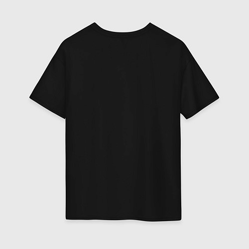 Женская футболка оверсайз Killua Hunter x Hunter Киллуа / Черный – фото 2