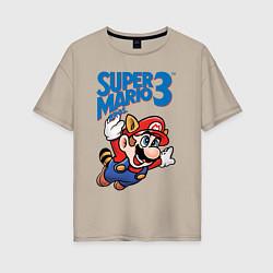Футболка оверсайз женская Mario 3 цвета миндальный — фото 1