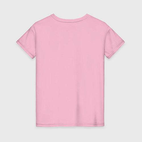 Женская футболка Моя лучшая подруга / Светло-розовый – фото 2