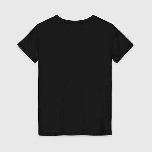 Женская футболка Ржём до утра / Черный – фото 2