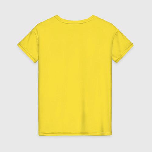 Женская футболка The Beatles faces / Желтый – фото 2