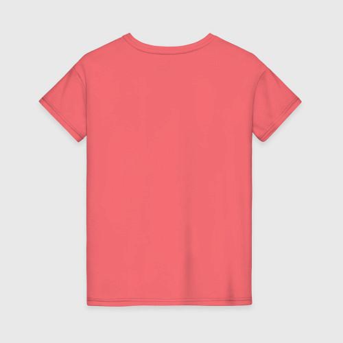 Женская футболка Zombies hand / Коралловый – фото 2