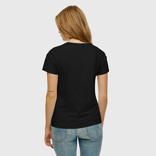 Женская футболка Oh, my Glob! / Черный – фото 4